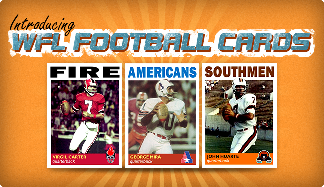 Introducing... WFL Football Cards